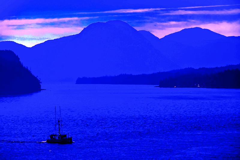Inside Passage, Alaska, Fishing, Salmon, photo