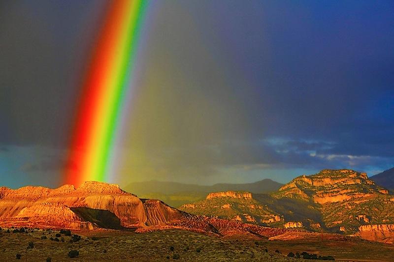 Tropic Rainbow, Tropic Utah, Southern Utah, photo