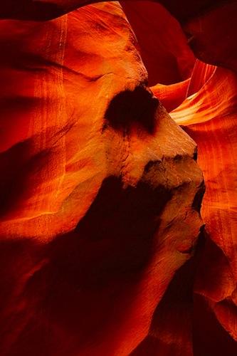 The Chief, Antelope Canyon, Navajo Nation, Northern Arizona, photo