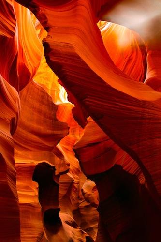 Light Shaft, Antelope Canyon, Navajo Nation, Northern Arizona, photo